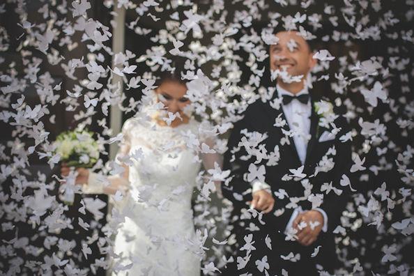 konfeti kāzām