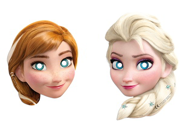 Karnevāla maskas Frozen