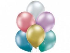 Baloni metāliski, hroma, mix, Belbal, 30 cm,100 gab.