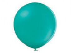Baloni zili, tirkīza, 60cm, BELBAL