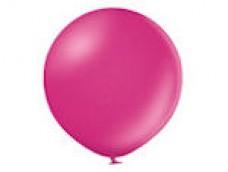 Baloni pērļu, rozā, tumši, 60cm, BELBAL