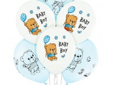 "Baloni 29cm, Mazuļiem ""BABY BOY"", puika, Belbal, 29cm"