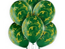 "Baloni ""Kamuflāža"", Belbal, kristāla, 29cm"