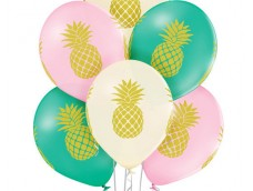 "Baloni ""Ananāss"", Belbal, pastel, 29cm"
