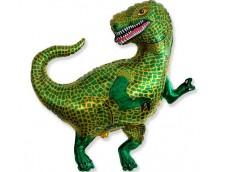 """Folijas balons 60cm - Flexmetal, dinozaurs """"Tiranozaurs"""""""