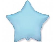 Folijas balons zvaigzne, zila, gaiši, 81cm, Flexmetal