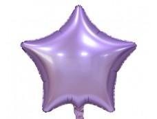 Folijas balons zvaigzne, lillā, matēta, 48cm