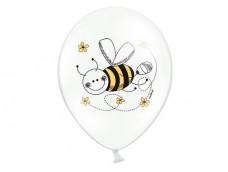 """Baloni """"Bite"""", Belbal, balti, pastel, 29cm"""