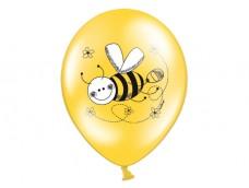 "Baloni ""Bite"", Belbal, dzelteni, pastel, 29cm"