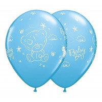 Baloni mazuļiem - Baby Boy, QUALATEX, 29cm