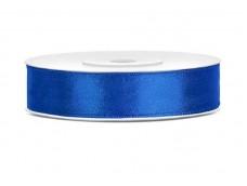 Lentīte zila, tumši, satīna, 12mm (25m)