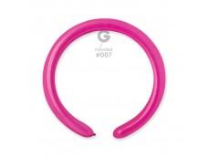 Baloni figūru veidošanai GEMAR D4 - rozā, tumši, 100 gab.