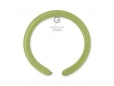Baloni figūru veidošanai GEMAR D4 - zaļi, olīvu, 100 gab.