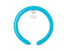 Baloni figūru veidošanai GEMAR D4 - zili, gaiši, 100 gab.