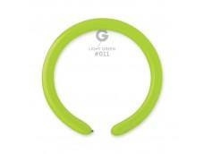 Baloni figūru veidošanai GEMAR D4 - zaļi, gaiši, 100 gab.