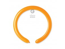 Baloni figūru veidošanai GEMAR D4 - oranži, 100 gab.
