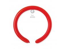 Baloni figūru veidošanai GEMAR D4 - sarkani, 100 gab.