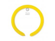 Baloni figūru veidošanai GEMAR D4 - dzelteni, citrona, 100 gab.