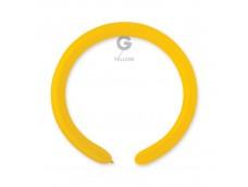 Baloni figūru veidošanai GEMAR D4 - dzelteni, 100 gab.