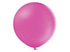 Baloni rozā, tumši, 60cm, BELBAL