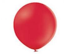 Baloni sarkani, 60cm, BELBAL