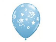Baloni 29cm, Mazuļiem - 1. gadiņš, QUALATEX