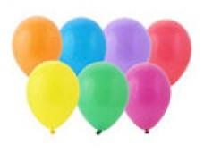 Baloni 23 cm, krāsu mix (30 gab.)