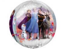"Folijas balons 38cm XL - ""Frozen""-2, ORBZ, caurspīdīgs"