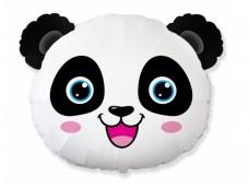 """Folijas balons 60cm - Flexmetal, """"Panda Head"""" - Panda, galva"""