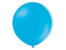 Baloni zili, ciāna, BELBAL, 60cm