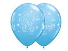 Baloni 29cm, Mazuļiem - Baby Boy, QUALATEX