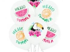"Baloni ""HELLO SUMMER"", sveika vasara, Belbal, 29cm"