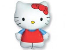Folijas balons 60cm - Flexmetal, Hello Kitty, sarkans