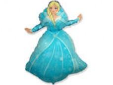 "Folijas balons 60cm - Flexmetal, Princese Elza, ""Frozen"""