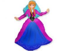 "Folijas balons 60cm - Flexmetal, Princese Anna, ""Frozen"""