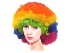 """Parūka """"AFRO"""" 3, varavīksne"""