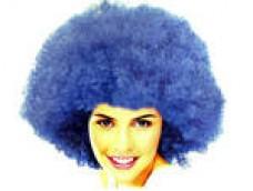 "Parūka ""AFRO"" 3, zila"