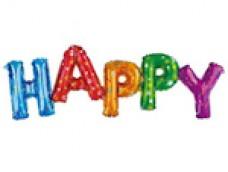 "Folijas balons - ""Happy"""