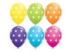 Baloni Zvaigznītes, QUALATEX, 29cm