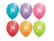 "Baloni Cipars ""16"", QUALATEX (5 gab.)"