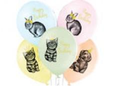 """Baloni Dzīvnieki, """"Birthday pets"""", dzimšanas dienas dzīvnieki, BelBal, 29cm"""