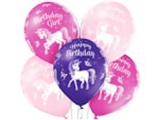 """Baloni Vienradzis """"Birthday"""", BelBal, 29cm"""