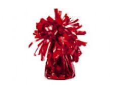 Balonu atsvars - folijas, sarkans