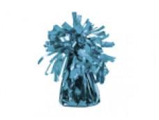 Balonu atsvars - folijas, zils gaiši