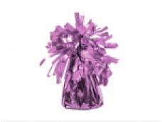 Balonu atsvars - folijas, rozā gaiši