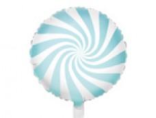 Folijas balons 45cm, Konfekte, mint