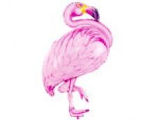 Folijas balons 70 x 95 cm - Flamingo