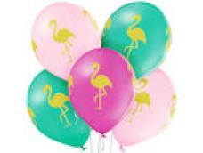 """Baloni Dzīvnieki, """"Flamingo"""", BelBal, 29cm"""