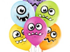 "Baloni Smaidiņš ""Funny Monsters"" - monstriņš, BelBal, 29cm"