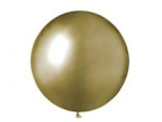 Baloni metāliski, hroma, zelta, GEMAR, 48cm